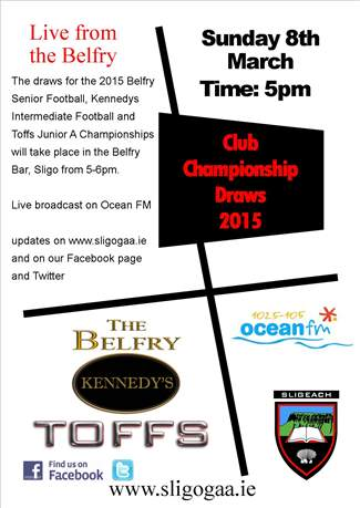 Club Championship Draws