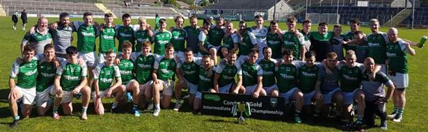 Connacht Gold IFC Champions - Curry