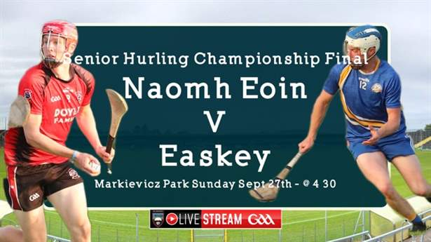 Live stream of Senior Hurling Final Sunday at 4.30